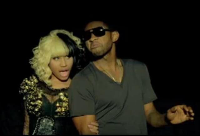 usher and nicki minaj dating Usher and nicki minaj shot the music video for the song on march 9, 2010,  in november 2005, usher began dating stylist tameka foster, .