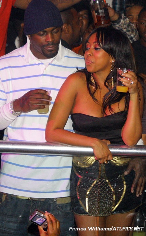 Bood Up Mike Vick And Wife Kijafa Spotted At Compound PHOTOS
