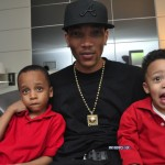 Montez with Mo's Kids (Rocko & Romelo)