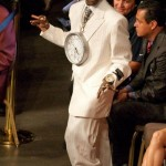 Spotted: Flavor Flav in His Easter Suit…