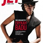 Cover shots: Erykah Badu for Jet Magazine