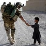 Soldier & child