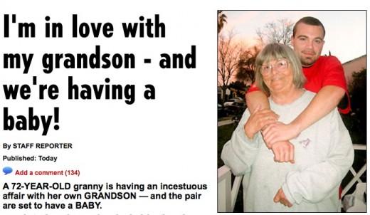 grandsons Great grandma fucks