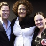 Whitney Houston & fans in Stockholm