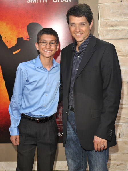 Ralph Macchio & Son