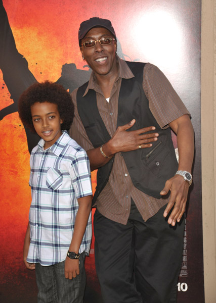 Arsenio Hall & Son