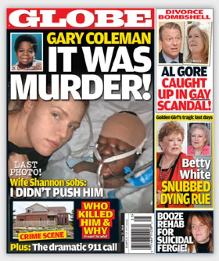 Sorry, that gary coleman wife shannon price apologise