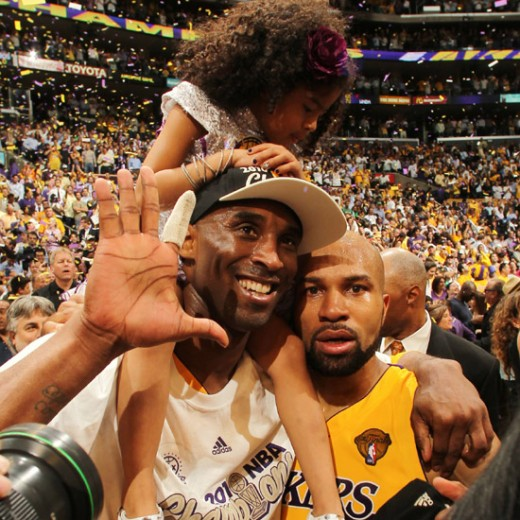 derek fisher and kobe bryant relationship with his mother