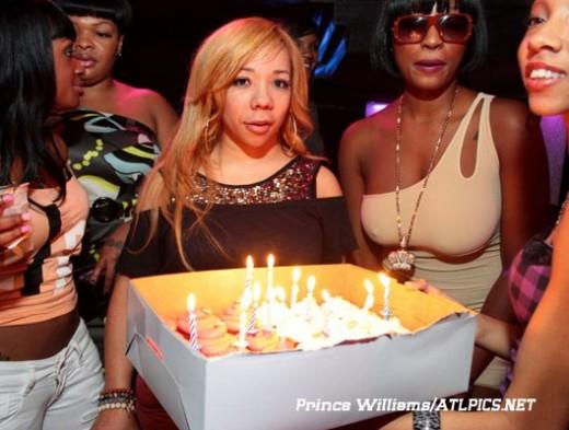 Tiny Celebrates Her 35th Birthday With Boo TI Friends