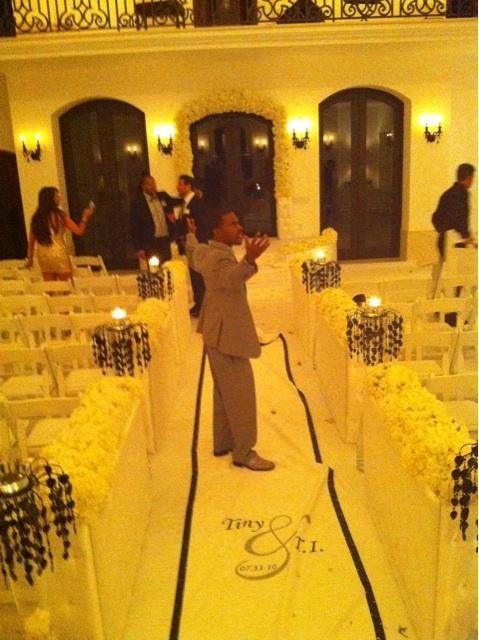 Inside T.I. & Tiny's Miami Wedding [PHOTOS]   Straight From The A