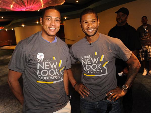 Usher Cnn S Don Lemon Straight From The A Sfta Atlanta