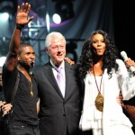 Usher Presents President Bill Clinton With World Leadership Award [PHOTOS + VIDEO]
