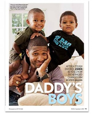Usher & Sons in People Magazine