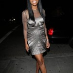 Brandy-In-Sheer-Gray-Dress-Outisde-of-STK-Steakhouse2