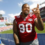 Darnell Dockett Dedicates Upcoming Atlanta Falcons Game to Slain Mom…