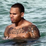 What's Up With The Swim Trunks Chris Brown?