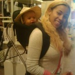 Keyshia Cole and Baby Daniel Go Shopping…