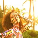 Alicia Keys' Naked Body is Swizz Beatz Art Canvas… [PHOTO]