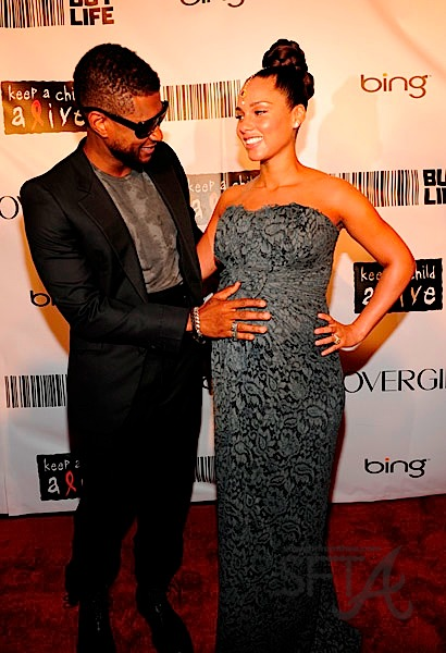 Usher and alicia keys date