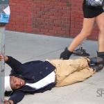 "Behind the Scenes of B.o.B.'s ""Don't Let Me Fall"" Video Shoot…"