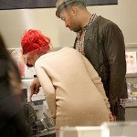 Rihanna+Matt+Kemp+cuddle+up+two+spotted+shopping+gkcl75dPKOsl