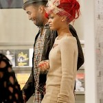 Rihanna+Matt+Kemp+cuddle+up+two+spotted+shopping+wpqxpyuUkUel