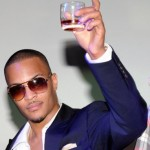 T.I. Dropped by Remy Martin Cognac…