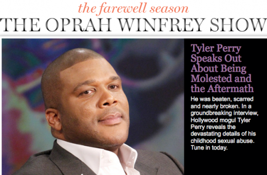 Tyler Perry. Tyler Perry will appear on The