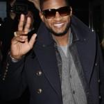 Usher Photo Call
