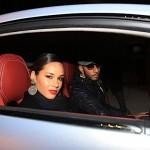 Alicia Keys Swizz Beatz Car