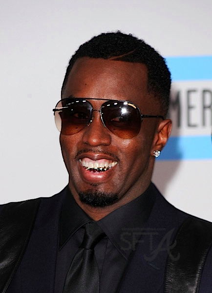 Spotted Diddy Amp His Grill Dirty Money S Ama Performance