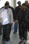 Usher and Diddy