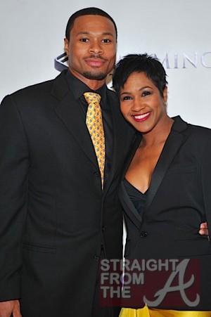 Terri Vaughn and husband Karon Riley