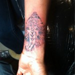 Brandy's New Tatt Influenced by Monica… [PHOTOS]
