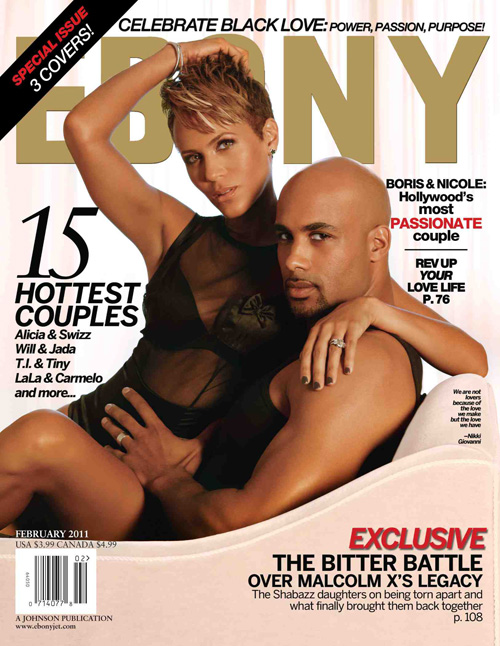Boris Kodjoe & Nicole Ari Parker (shown above) are photographed seductively ...