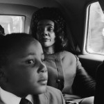 Coretta Scott King and Son Martin