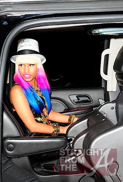 Nicki Minaj Drake Kiss. Nicki Minaj sported her