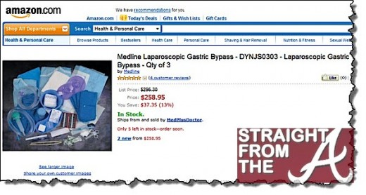 Wtf do it yourself gastric bypass kit sold on amazon photos somehow solutioingenieria Image collections