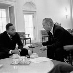 Martin Luther King Jr President Lyndon B. Johnson