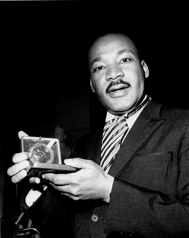 King Wins Nobel Peace Prize Straight From The A Sfta Atlanta
