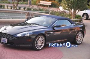 Sheree Whitfield's Repo'd Aston Martin