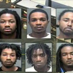 Mugshot Mania ~ 6 Men Arrested in Waka Flocka Bus Shootout… [VIDEO]