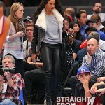 Spotted: Ciara & Her New Wig Courtside at the Knicks Game… [PHOTOS]