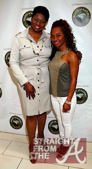 "Soft Sheen CEO Angela Guy & Rozonda ""Chilli"" Thomas 2"
