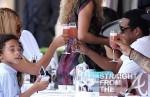 Beyonce Jay-Z jules on April 20, 2011 in Paris, France.