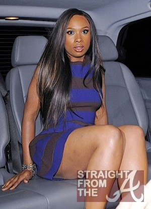 Jennifer Hudson Leaving Ivy