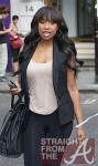 Jennifer Hudson leaving Nobu London