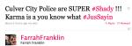 Farrah Franklin Twitter