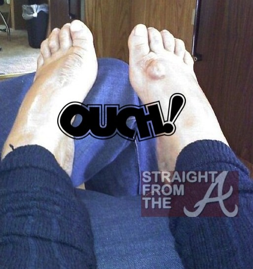 Wendy Williams Feet