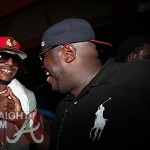Chyi Da Prynce and Q (WSHH) attend Jeezy Pool Party on May 28, 2011 in Miami Beach, Florida.